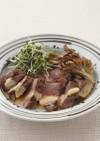 ラムの厚切ステーキ オリエンタルソース