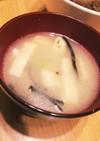 油揚げと枝豆のかきたまスープ