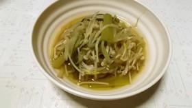 小松菜ともやしとえのきの煮浸し