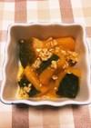 かぼちゃのそぼろ煮(常備菜豚ミンチ)