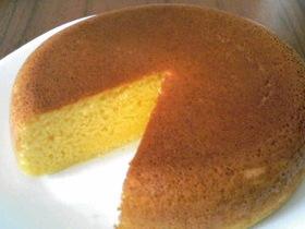 炊飯器で☆たまごケーキ