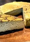 濃い抹茶使用 糖質オフ濃厚チーズケーキ