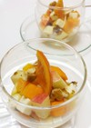 柿・林檎・クリームチーズのお洒落デザート