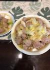 簡単、巻かない、肉団子の白菜煮。