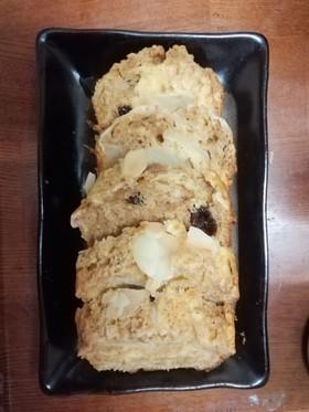 HMで作る生りんごのパウンドケーキ