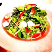 オシャレ⋆苺とカマンベールチーズのサラダの写真