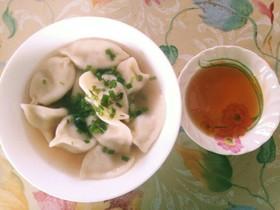 ズボラ女の業スー水餃子スープ