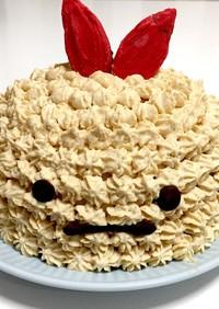 すみっコぐらし えびふらいのしっぽケーキ