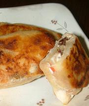 簡単!春巻きチーズアップルパイ♪の写真