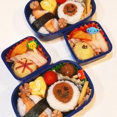 4歳年少さん★秋のかわいいお弁当☆