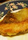 簡単☆サーモンチーズパン粉焼き