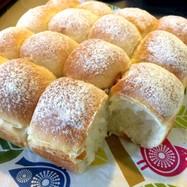 HBで!柚子ピール入り☆ちぎりパン♪