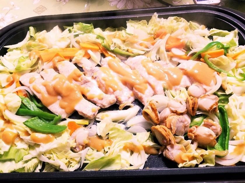 サムライ特製秋鮭チャンチャン焼♥️
