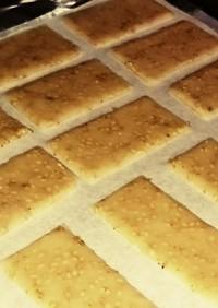 トースターでクッキー@動物性不使用