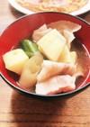 さつまいもの生姜鍋