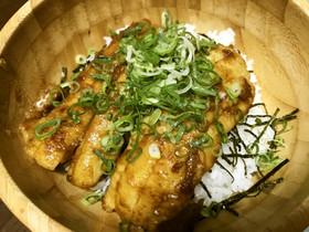 太刀魚の甘辛丼