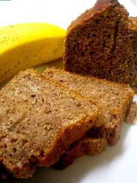 卵油なし!豆冨とバナナのパウンドケーキ♥