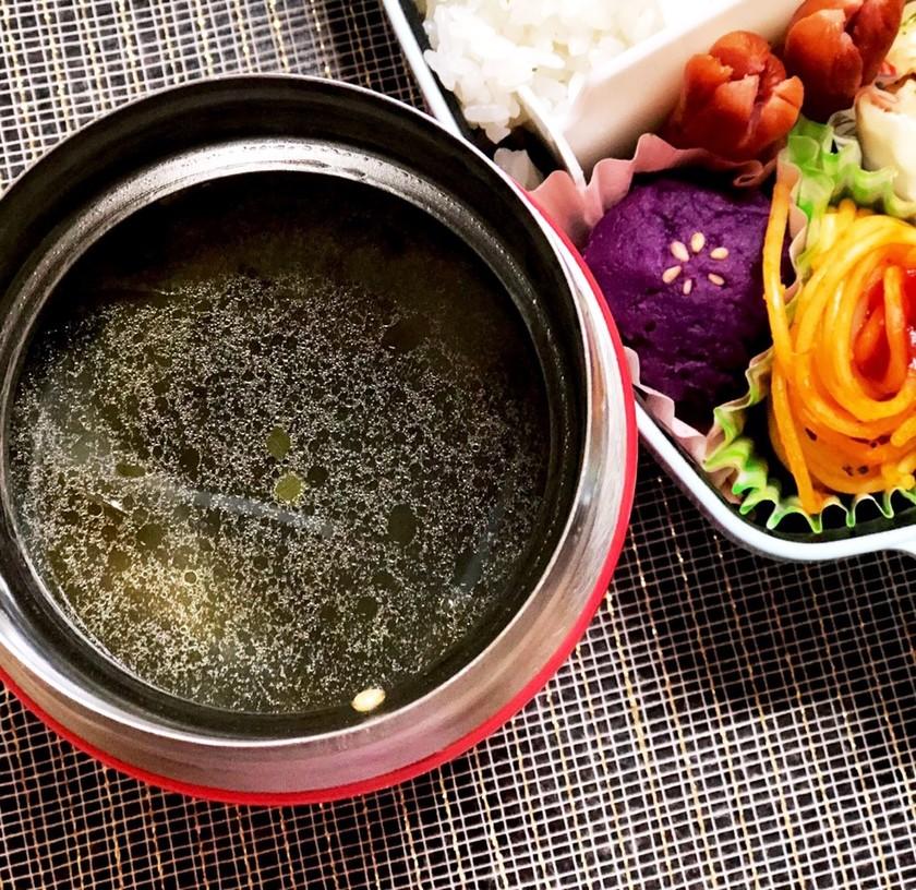 スープジャーで♡ごま香る簡単春雨スープ♪