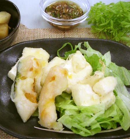豆腐の天ぷら(腎臓病食)