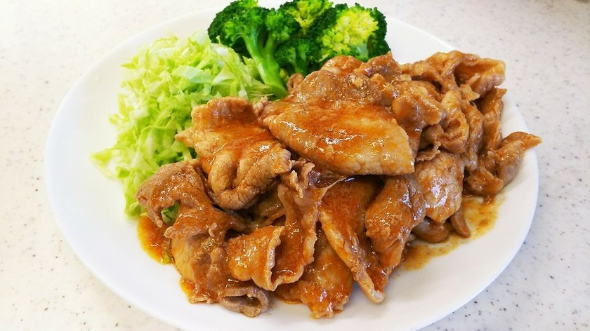 簡単☆豚肉のはちみつ&ケチャップソース