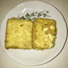 豆腐のカレーソテー