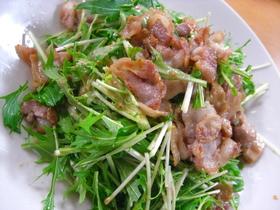 簡単☆スピード水菜サラダ