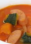 かぼちゃとにんじんジュースのスープ
