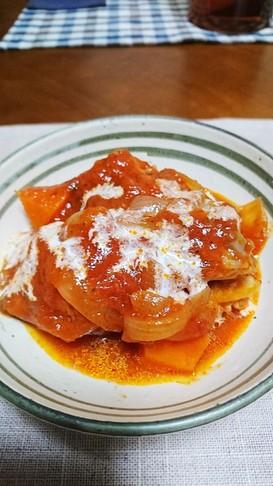 簡単!炊飯器で手羽元のトマト煮込み