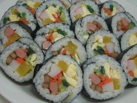 韓国・野菜キムパブ