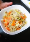 野菜炒め@ガラムマサラ風味
