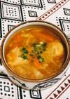 つくねとお野菜の和風カレースープ
