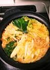 味噌キムチ鍋(モツ入り)