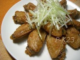 鶏手羽先のジンジャーエール煮