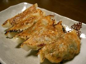 ニラの焼き餃子