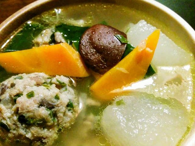 豚 ひき肉 スープ