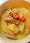豆乳コンソメのスープ
