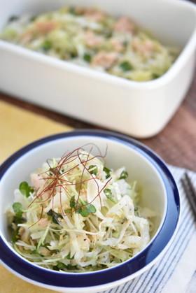 キャベツとツナの旨塩サラダ【作り置き】
