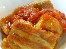 圧力鍋deトマト角煮
