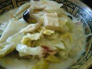 白菜と高野豆腐のミルク煮の写真