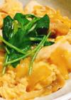 柔らか鶏胸肉とお麩の絶品半熟親子丼