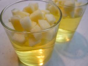 プルプル☆ リンゴ酢ゼリー