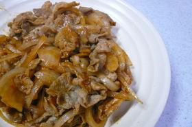 豚肉のピリ辛ケチャップ炒め。