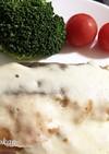 鮭のチーズムニエル