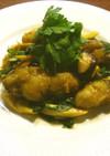牡蠣と九条ネギのオイスターソース炒め