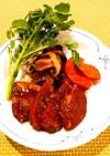 コクうま~♡豚肉の赤ワイン煮