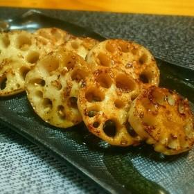 蓮根ステーキの生姜ソース