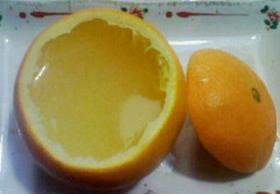 *オレンジゼリー