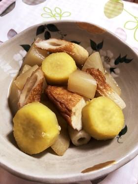 ☆簡単おかず☆練り物と薩摩芋の煮物