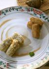 【野菜ソムリエ】えびいもの唐揚げ2種
