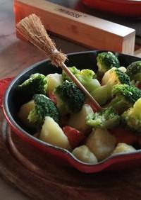 温野菜ガーリックバター焼き